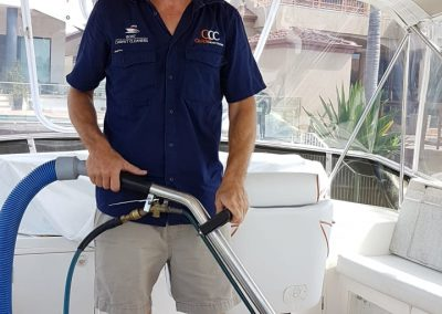carpet cleaning on Boats